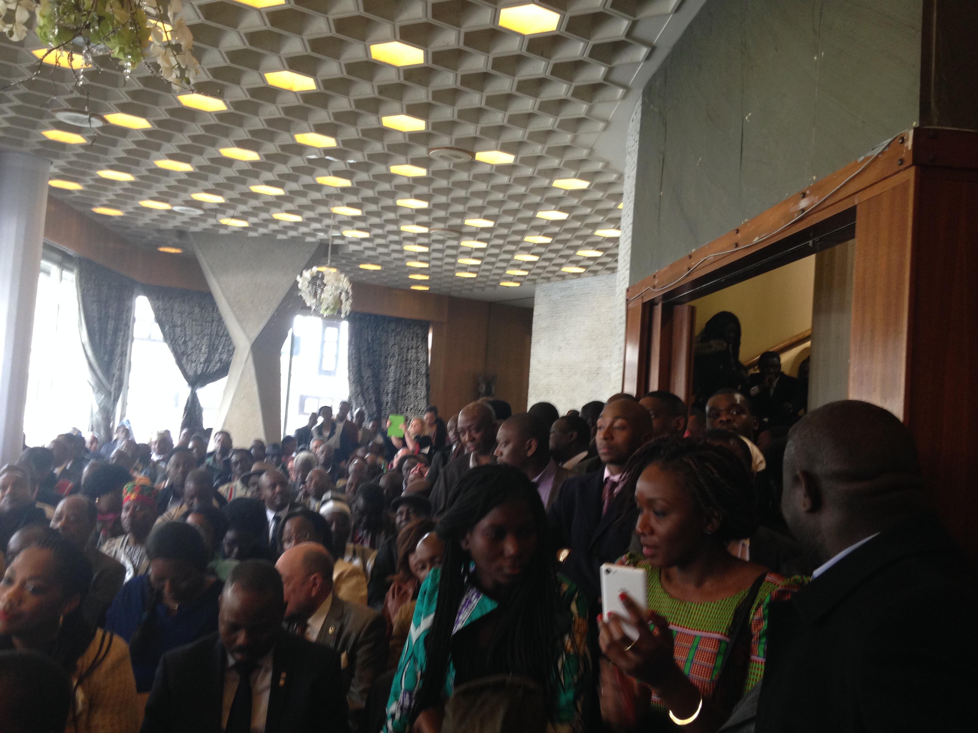Visite du Président KABORE à Paris