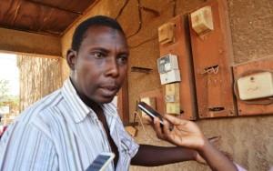 Idrissa Yanogo, l'un des enfants du propriétaire de la cour - © Burkina 24