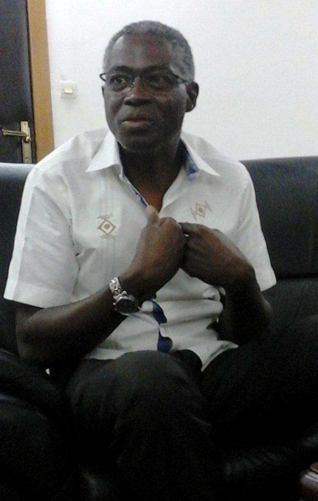 Jean-Martin Coulibaly, le ministre de l'éducation nationale et de l'alphabétisation.