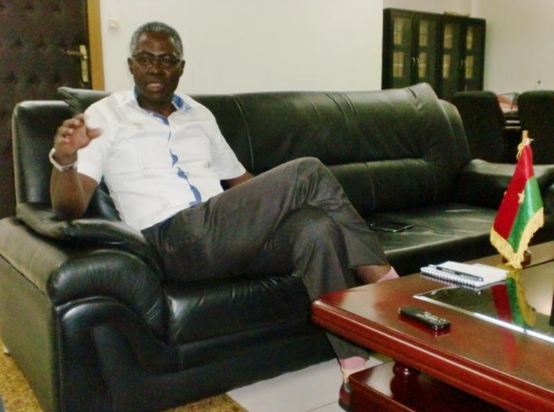 Jean-Martin Coulibaly, ministre de l'éducation nationale et de l'alphabétisation.