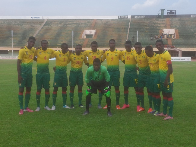 Lions cameroun U20