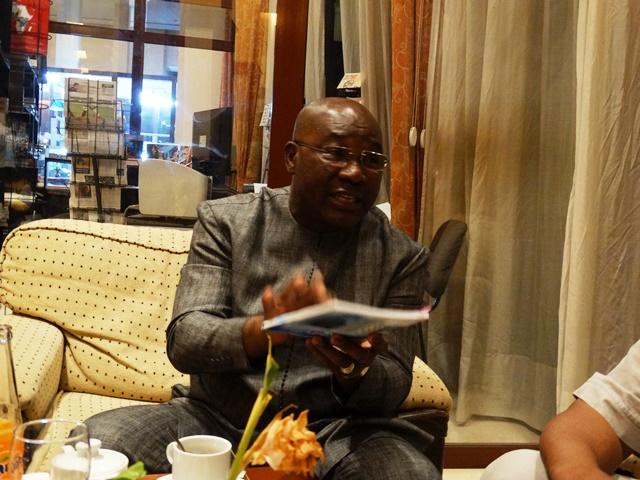 Me Seydou Sidiki Konaté, président de la Conférence des barreaux des Etats membres de l'UEMOA et bâtonnier du barreau du Mali.© Burkina24