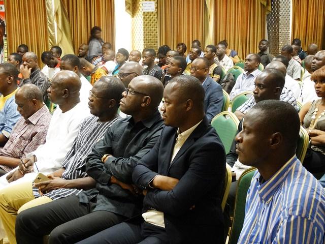 Participants à la restitution des résultats