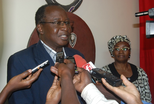 Professeur Jacques Gueda Ouédraogo