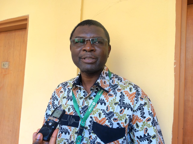 Sosthène Konaté, responsable de programme résilience d'action humanitaire à Oxfam Burkina.