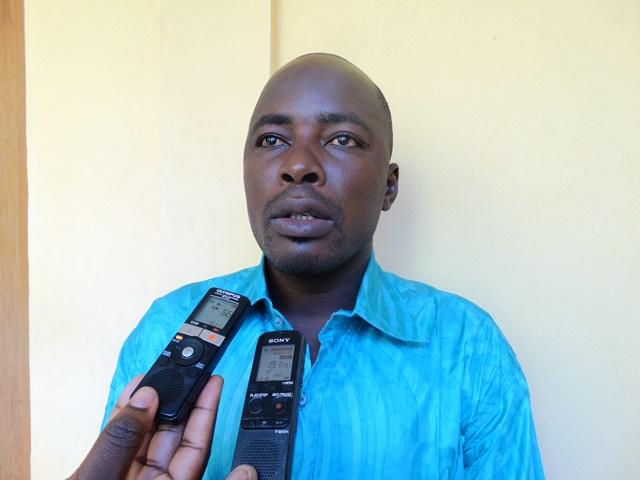 Tasséré Koudougou, agent du Secrétariat exécutif du conseil national de sécurité alimentaire.