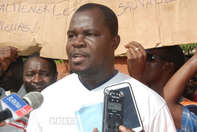 Tondé Damien, ex-représentant des travailleurs de la SMB