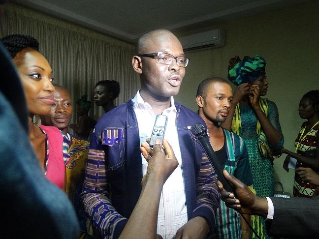 """Bazem'Se : """"Je veux montrer au public que ce pagne est une fierté burkinabè"""" © Burkina24"""