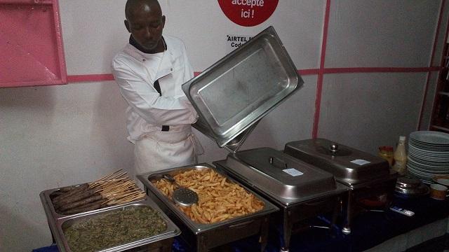 El Fadhel Sankara vous fait découvrir son buffet !