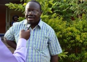 Achille Yaméogo, président du comité d'organisation de la nuit d'hommage aux chefs coutumiers
