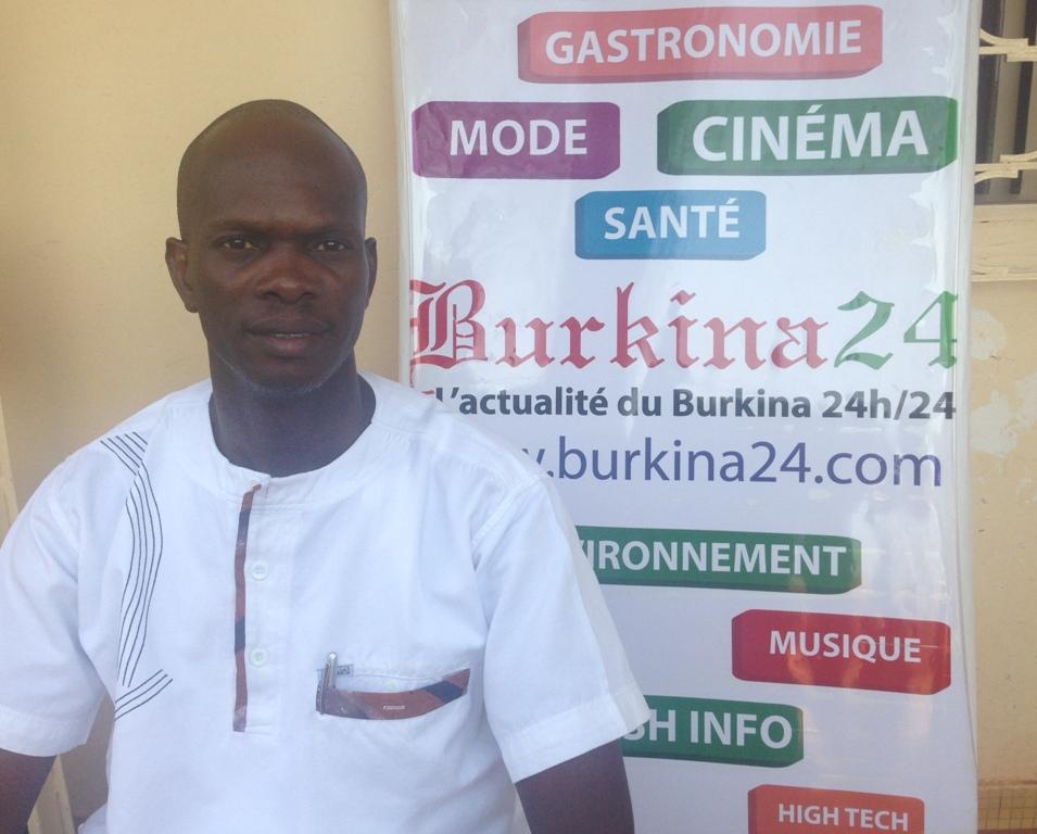 """Adama Sawadogo, Consultant en sécurité documentaire, Co-inventeur de la plateforme """"iCivil""""."""
