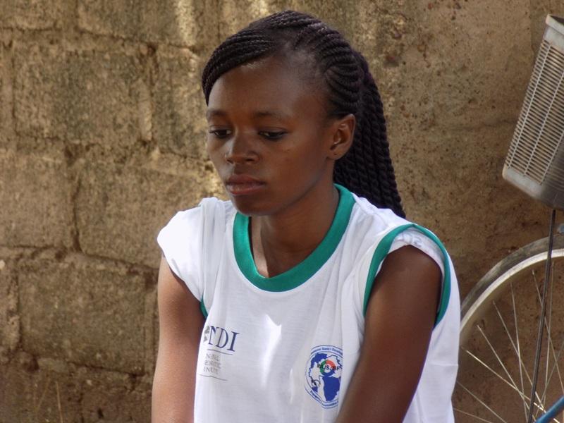 Auriane Traoré, Pair-animateur au RAJS.