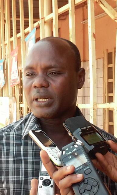 Bamouni Batié, contrôleur de la concurrence et des prix au ministère du commerce