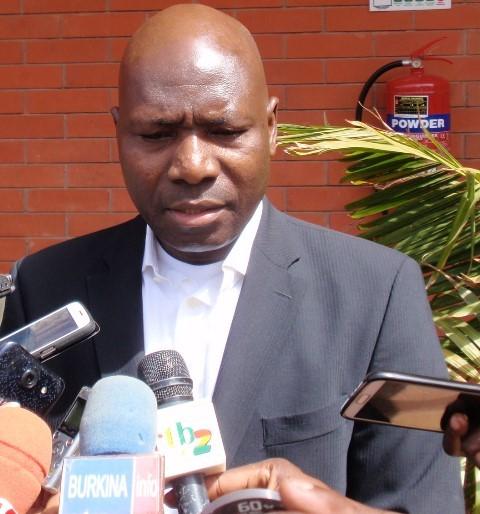 Cheick Kanté, le représentant résident de la Banque mondiale au Burkina Faso