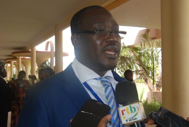 Le Directeur général du CAERD Hamadou Savadogo