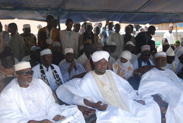 ????????????De nombreux Cheicks, dont Aboubacar Maïga II de Ramatoulaye ont assisté à la cérémonie