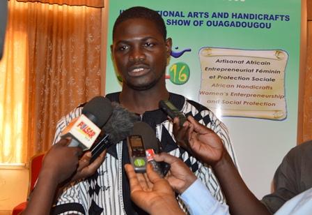 Dramane Tou, directeur du SIAO -  © Burkina24