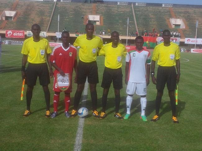 Le voyage au Congo sera difficile pour les Étalons juniors du Burkina au match retour