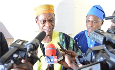 Larlé Naaba,parrain de la 5é journéede l'intégration africaine de l'IAM