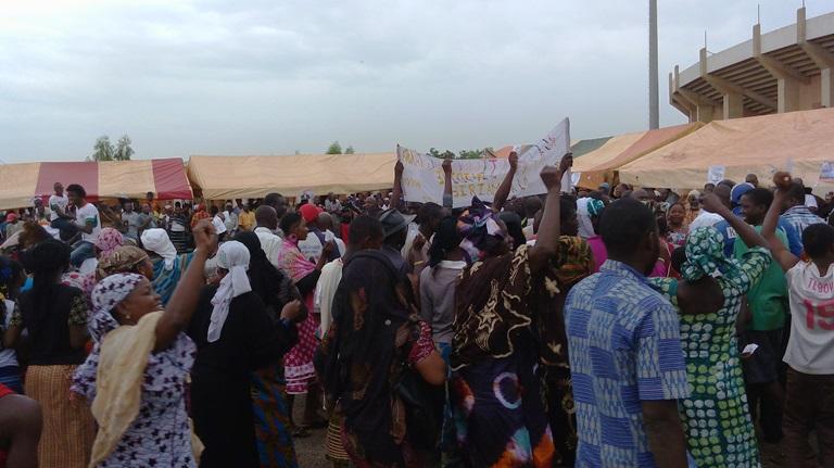 Les militantes et militants se sont mobilisés massivement pour accueillir les candidats du NTD
