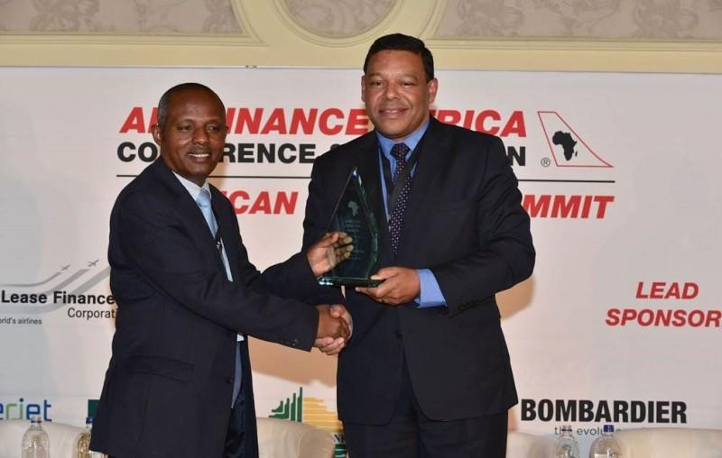 Mesfin Tasew, Chef de l'exploitation d'Ethiopian Airlines.