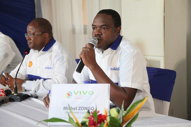Michel Zongo, le responsable gaz de Vivo Energy Burkina