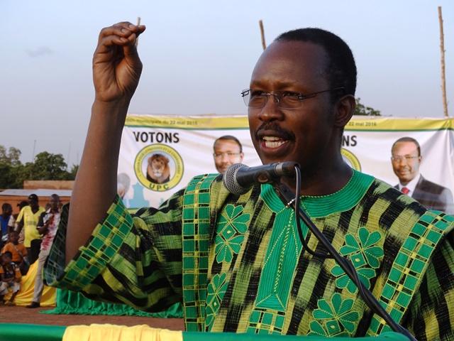 Nathanaël Ouédraogo, candidat à la mairie de Ouagadougou