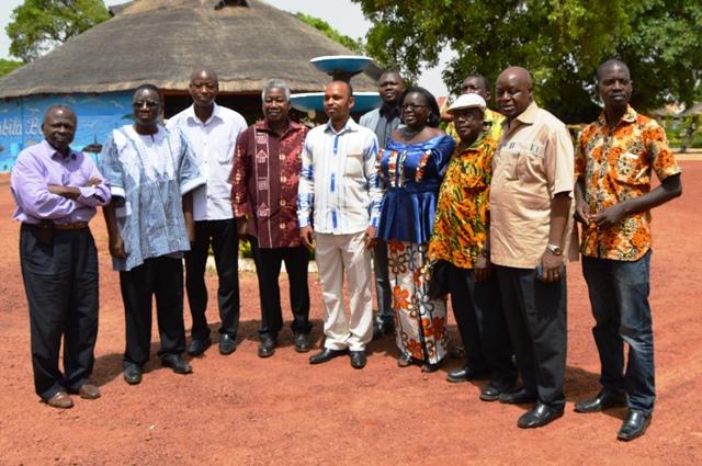Photo de famille du comité
