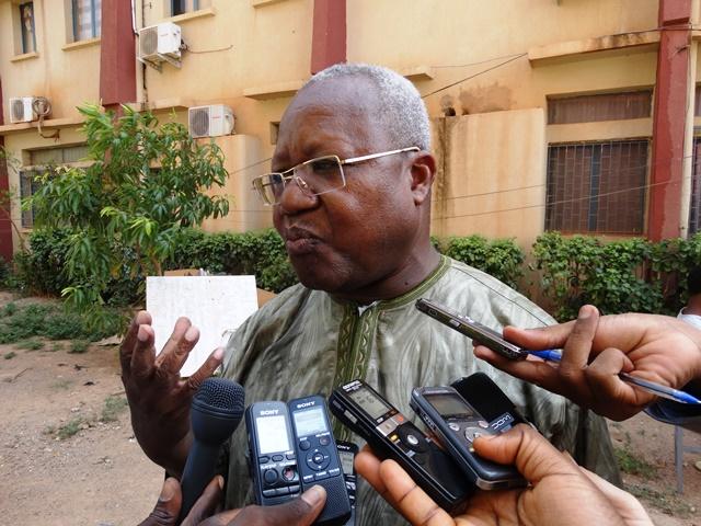 Pr Mahamoudou Ouédraogo, directeur de l'Ecole supérieure de journalisme de l'Université Aube nouvelle (U-AUBEN)