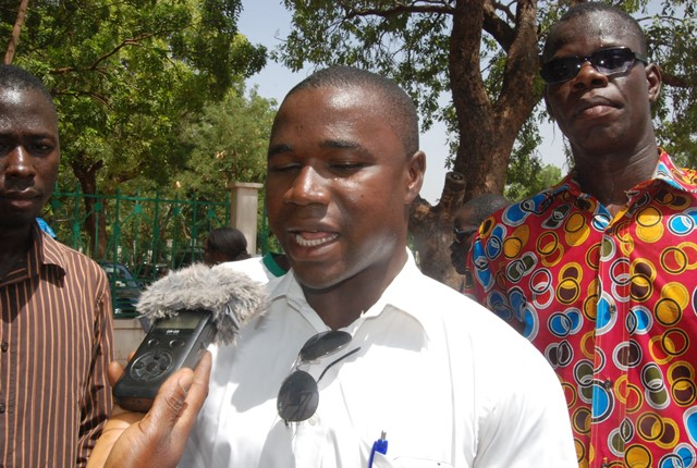 Sigué Ouattara, porte-parole des bénéficiaires