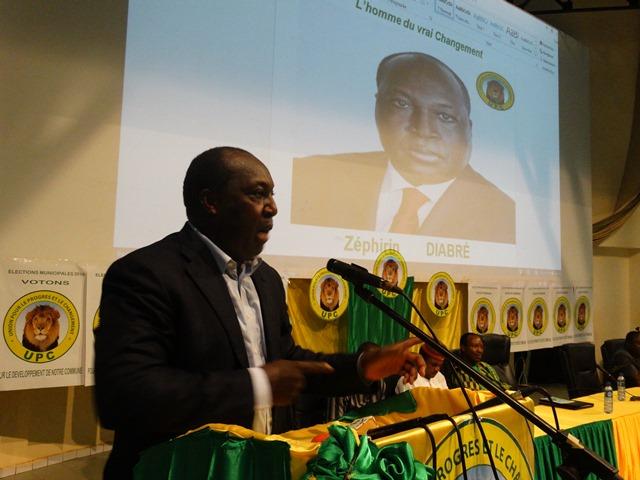 Zéphirin Diabré s'adresse aux candidats aux municipales