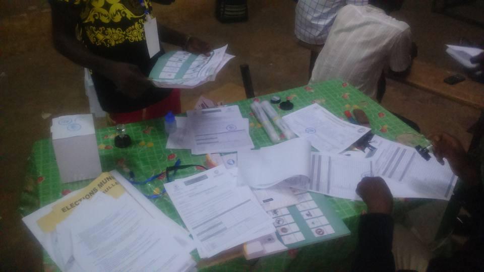 municipales burkina vote dépouillement