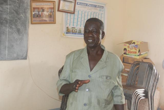 Abdoulaye Sawadogo, président de l'association AMAZEB s'est dit ravi que les femmes puissent bénéficier d'un tel soutien qui servira à toute la famille