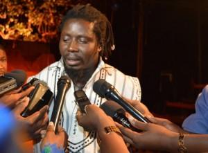 "Aristide Tarnagda, metteur en scène de ""Baabou roi"""