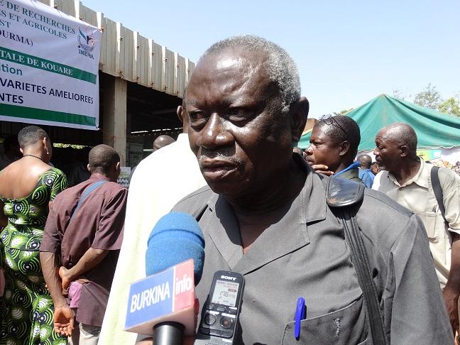 Joseph Thiéba, secrétaire général de l'Union nationale des producteurs semenciers du Burkina