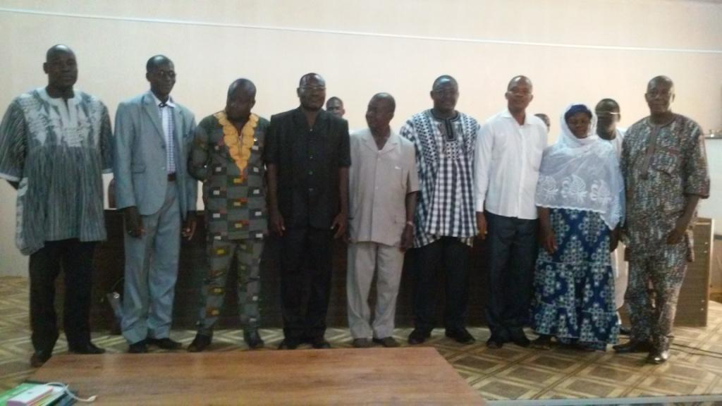 Le bureau du conseil municipal de Koudougou