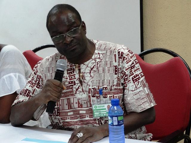 Omer Kaboré, directeur pays d'Oxfam