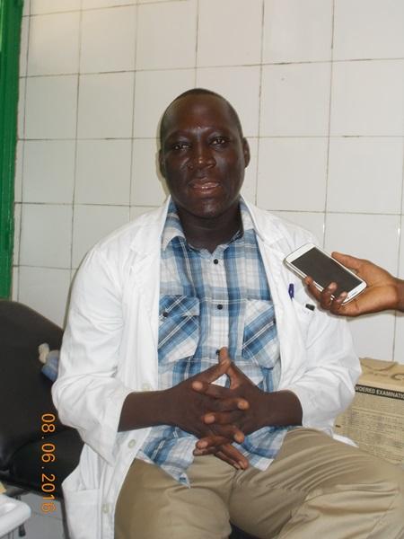 3)Le SG du SYNTSHA/Boulgou Mathias Guitanga : ''On a reculé alors que son contrat c'était pour faire progresser le CHR''