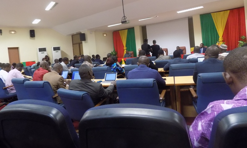 Rencontre d'examen et de validation du diagnostic et de la vision de la Politique nationale de développement de l'économie numérique.