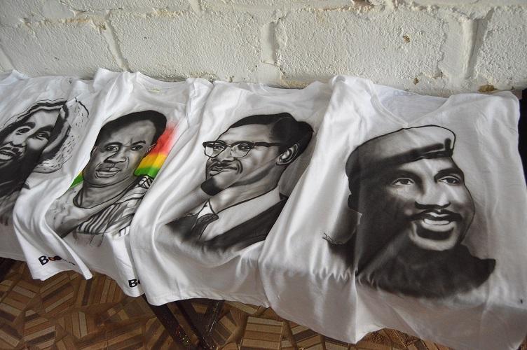Les T-Shirt Boodoo made in Burkina Faso