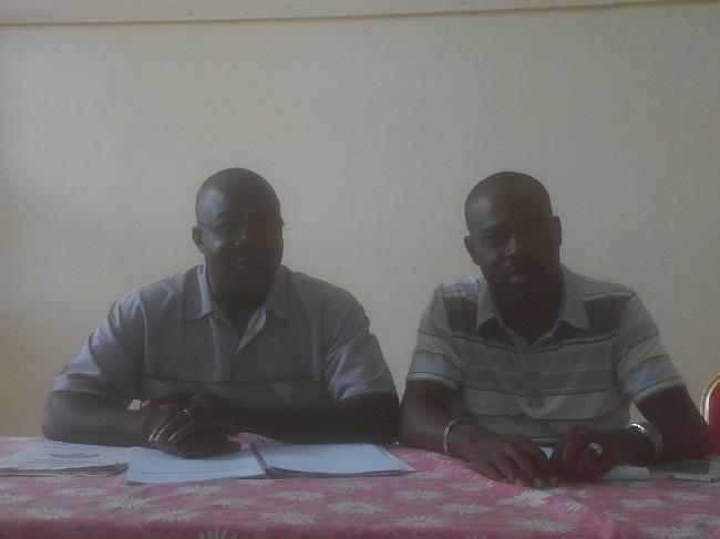Alain Nana et Idrissa Traoré ont insisté sur le fait que le maracana est différent du football à sept