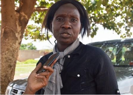 Awa Fofana, animatrice principale de la caravane - © Burkina24