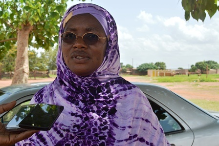 Mariam Bonkoungou Sawadogo, représentante régionale de la promotion de l'éducation des filles et du genre dans la région des Cascades - © Burkina24