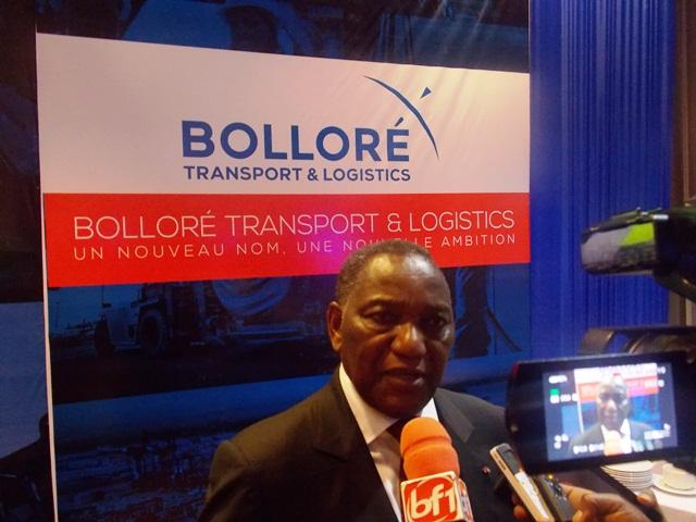 Le PCA Lassiné Diawara : ''Ce nouveau label va donner une visibilité et permettre une synergie d'action du groupe Bolloré''