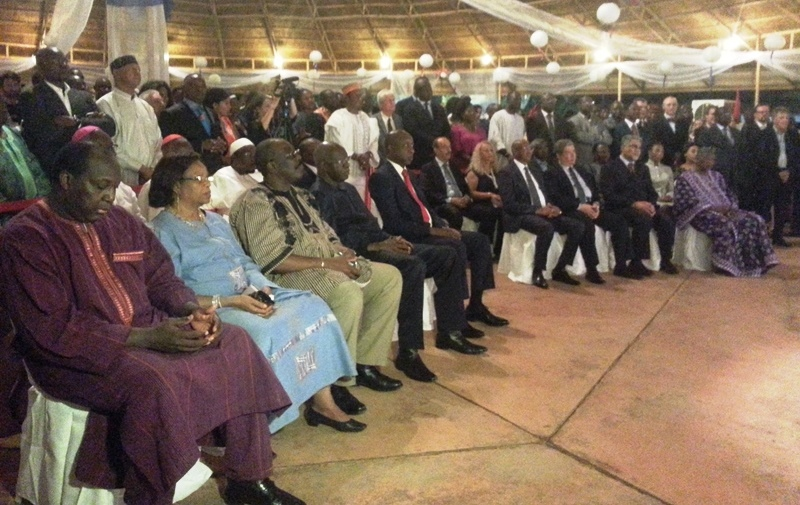 Les officiels qui ont marqué de leur présence la célébration du 227 ème anniversaire de la Prise de la Bastille