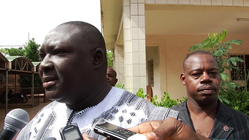 Maurice Moctar Zongo, haut commissaire de la province du Kadiogo © Burkina24