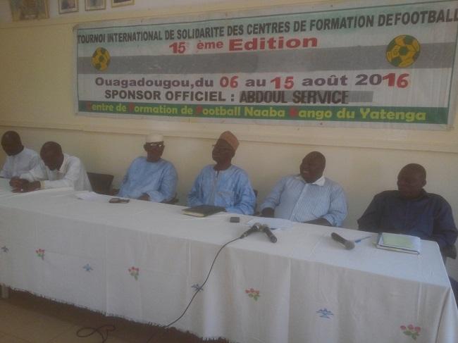 Le promotteur du Tournoi international de la solidarité Noufou Ouédraogo continue de croire à la formation des jeunes fooballeurs
