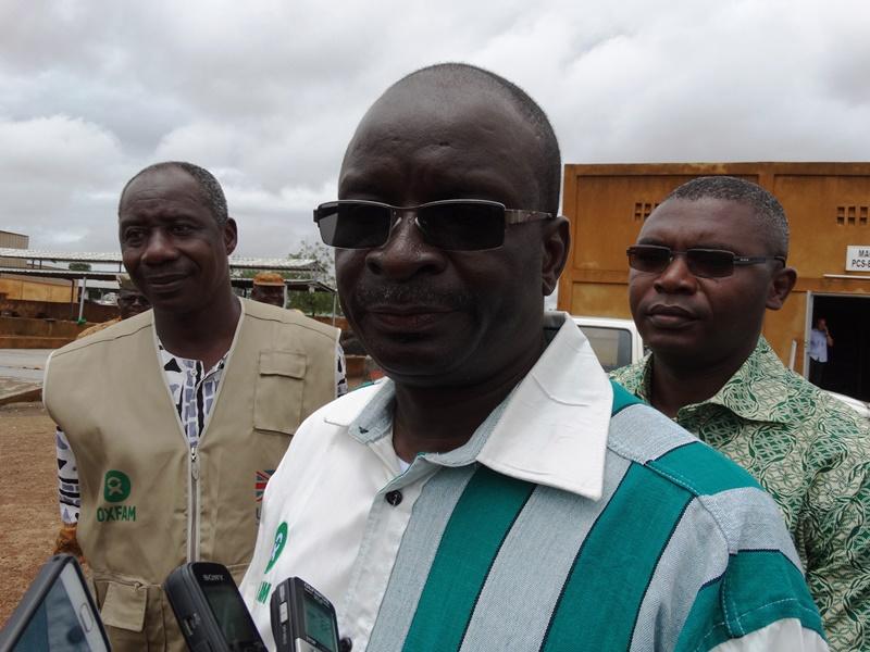 Omer Kaboré, directeur pays de Oxfam