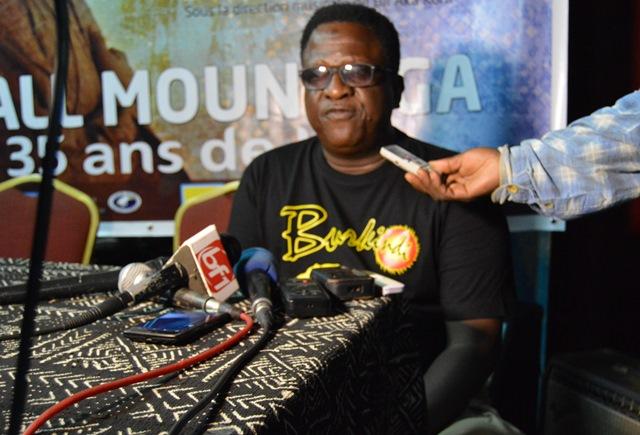Tall Mountaga, artiste-musicien- interprète burkinabè