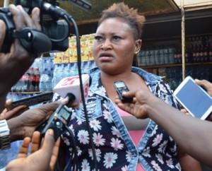 Wandaogo Alizèta, commerçante